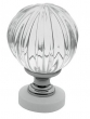 Baldwin<br />4305.260 IN STOCK  - Crystal Knob Polished Chrome