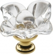 Baldwin<br />4308.030  - Crystal Knob Polished Brass