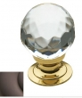 Baldwin<br />4317.112 IN STOCK  - Crystal Knob Venetian Bronze