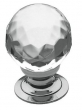Baldwin<br />4317.260 IN STOCK  - Crystal Knob Polished Chrome