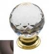 Baldwin<br />4319.112 IN STOCK  - Crystal Knob Venetian Bronze