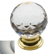 Baldwin<br />4319.150 IN STOCK  - Crystal Knob Satin Nickel