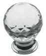 Baldwin<br />4319.260 IN STOCK  - Crystal Knob Polished Chrome