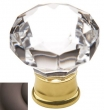 Baldwin<br />4323.112 IN STOCK  - Crystal Knob Venetian Bronze