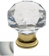 Baldwin<br />4324.150 IN STOCK  - Crystal Knob Satin Nickel