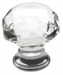 Baldwin<br />4325.260 IN STOCK - Crystal Knob Polished Brass