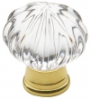 Baldwin<br />4326.030 &lt;Br&gt; IN STOCK  - Crystal Knob Polished Brass