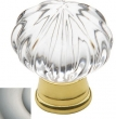 Baldwin<br />4326.150 IN STOCK  - Crystal Knob Satin Nickel
