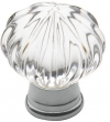 Baldwin<br />4326.260 IN STOCK  - Crystal Knob Polished Chrome