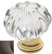 Baldwin<br />4327.112 IN STOCK  - Crystal Knob Venetian Bronze