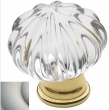 Baldwin<br />4327.150 IN STOCK  - Crystal Knob Satin Nickel