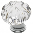 Baldwin<br />4327.260 IN STOCK  - Crystal Knob Polished Chrome