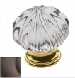 Baldwin<br />4328.112 IN STOCK  - Crystal Knob Venetian Bronze