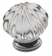 Baldwin<br />4328.260 IN STOCK  - Crystal Knob Polished Chrome