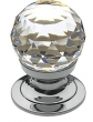 Baldwin<br />4332.260.S IN STOCK  - Swarovski Crystal Cabinet Knob Polished Chrome