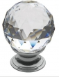 Baldwin<br />4336.260.S IN STOCK  - Swarovski Crystal Cabinet Knob Polished Chrome