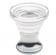 Baldwin<br />4354.260 IN STOCK  - Crystal Cone Cabinet Knob Polished Chrome