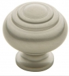 Baldwin<br />4445.150.BIN IN STOCK  - Ring Deco Knob Satin Nickel