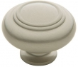 Baldwin<br />4447.150.BIN IN STOCK  - Ring Deco Knob Satin Nickel