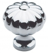 Baldwin<br />4457.260.BIN IN STOCK  - Melon Knob Polished Chrome