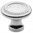 Baldwin<br />4645.260.BIN IN STOCK  - Rope Knob Polished Chrome