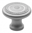 Baldwin<br />4645.264.BIN IN STOCK  - Rope Knob Satin Chrome