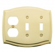 Baldwin<br />4768.030.CD - COLONIAL OUTLET/DOUBLE TOGGLE COMBO