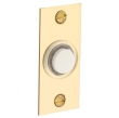 Baldwin<br />4853 - RECTANGULAR BELL BUTTON