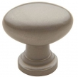 Baldwin<br />4910.150.BIN IN STOCK  - Oval Knob Satin Nickel
