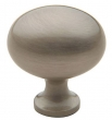Baldwin<br />4913.150.BIN IN STOCK  - Oval Knob Satin Nickel