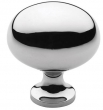 Baldwin<br />4913.260.BIN IN STOCK  - Oval Knob Polished Chrome