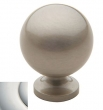 Baldwin<br />4960.140.BIN IN STOCK  - Spherical Knob Polished Nickel