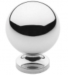 Baldwin<br />4960.260.BIN IN STOCK  - Spherical Knob Polished Chrome