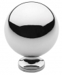 Baldwin<br />4961.260.BIN IN STOCK  - Spherical Knob Polished Chrome