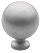 Baldwin<br />4961.264.BIN IN STOCK  - Spherical Knob Satin Chrome
