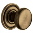 Baldwin<br />5015.050 - CLASSIC KNOB WITH 5048 ESTATE ROSE - Brass &amp; Black