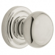 Baldwin<br />5015.055 KNOB W/ 5048 ROSE - Lifetime Pol. Nickel -  Pre-Configured Set With Knobs, Roses, Latch &amp; 2 1/8 Adapter