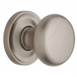 Baldwin<br />5015.150 - Classic Knob Set with 5048 Rose - Satin Nickel