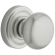 Baldwin<br />5015.264 - CLASSIC KNOB WITH 5048 ESTATE ROSE - Satin Chrome