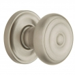 Baldwin<br />5020.150 - Colonial Knob Set with 5048 Rose - Satin Nickel
