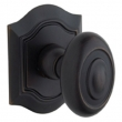 Baldwin<br />5077.102 - BETHPAGE KNOB WITH R027 BETHPAGE ROSE - OIL RUBBED BRONZE