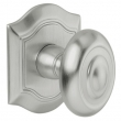 Baldwin<br />5077.264 - BETHPAGE KNOB WITH R027 BETHPAGE ROSE - SATIN CHROME