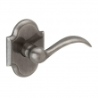 Baldwin<br />5452V.452 - BEAVERTAIL LEVER WITH R030 ARCHED ROSE - Distressed Antique Nickel