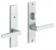 Baldwin<br />6503.KEOS/6503.KTIS - Detroit  PRIVACY SET WITH THUMBTURN KNOB - 1 5/8&quot; X 8&quot;