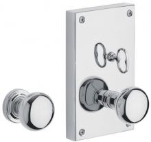 Baldwin - GEORGETOWN PRIVACY SET WITH THUMBTURN KNOB - 4