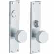 Baldwin<br />6513.KC/6513.KT - ATLANTA SINGLE CYLINDER MORTISE ENTRY SET - 2 1/4&quot; X 10&quot;