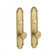 Baldwin<br />6541.DBLC - SAN FRANCISCO DOUBLE CYLINDER MORTISE ENTRY - 2 1/4&quot; X 12&quot;
