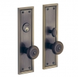 Baldwin<br />6547 - NASHVILLE MORTISE ENTRY SET - 2 13/16&quot; X 10&quot;