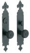 Baldwin<br />6774.KC/6774.KT - PLYMOUTH SINGLE CYLINDER MORTISE ENTRY SET - 2&quot; X 12&quot;