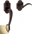 Baldwin<br />85353.102.ACRH or ACLH - Sectional Entry Handleset Kit Oil Rubbed Bronze